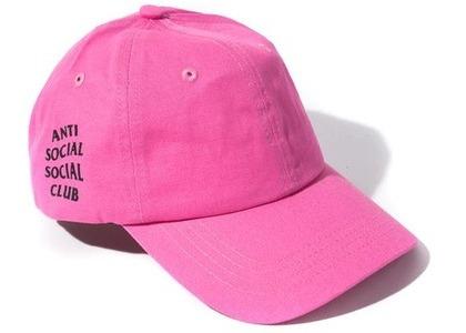 Anti Social Social Club WEIRD Cap Hot Pink (FW20)の写真
