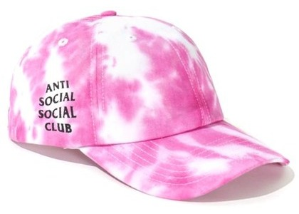 Anti Social Social Club Once Upon A Time Cap Pink/White (FW20)の写真