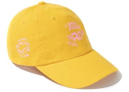 Anti Social Social Club Crystal Clear Cap Gold (FW20)の写真