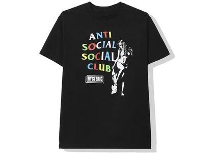 Anti Social Social Club × Hysteric Glamour Tee Black (SS20)の写真