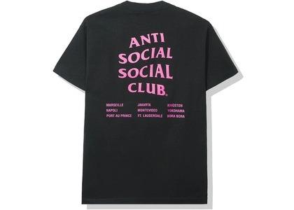 Anti Social Social Club Club Med Tee Black (SS20)の写真