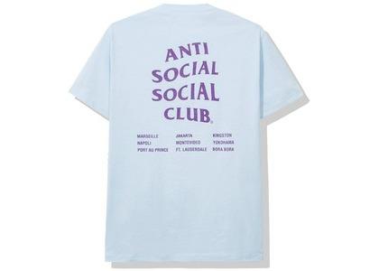 Anti Social Social Club Club Med Tee Blue (SS20)の写真