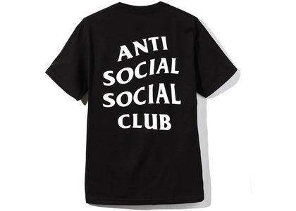 Anti Social Social Club Logo 2 Tee  (SS20) Black (SS20)の写真