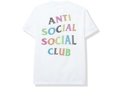 Anti Social Social Club Stud Belt Tee White (SS20)の写真