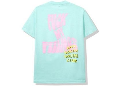Anti Social Social Club Chatsworth Tee Aqua (SS20)の写真