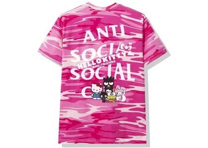 Anti Social Social Club × Hello Kitty and Friends Tee Pink Camo (SS20)の写真