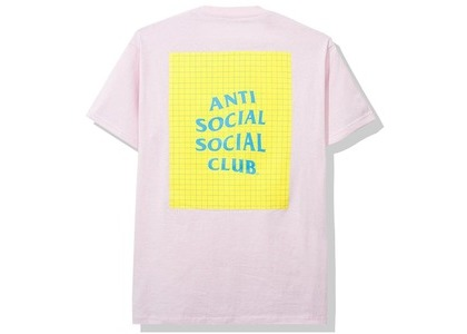 Anti Social Social Club Sugoi Tee Pink (SS20)の写真