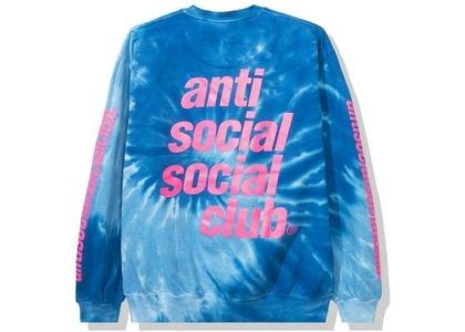Anti Social Social Club Rotterdam Long Sleeve Tee Blue Tie Dye (SS20)の写真