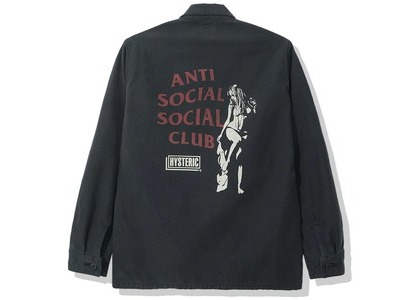 Anti Social Social Club x Hysteric Glamour BDU Black (SS20)の写真