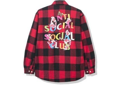 Anti Social Social Club Frantic Flannel Red (SS20)の写真