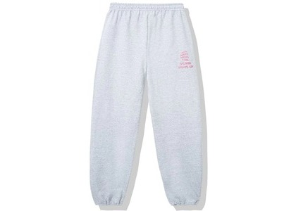 Anti Social Social Club Dialtone Sweatpants Grey (SS20)の写真