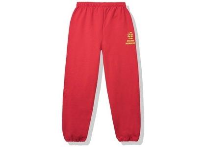 Anti Social Social Club Dialtone Sweatpants Red (SS20)の写真