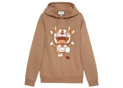 Doraemon x GUCCI Hooded Sweatshirt Brownの写真
