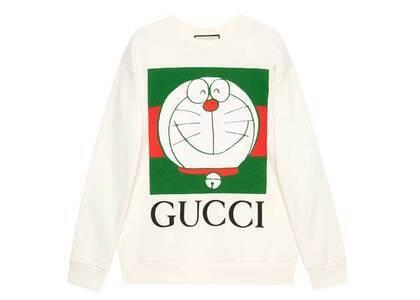Doraemon x GUCCI Cotton Sweatshirt Ivory/Greenの写真