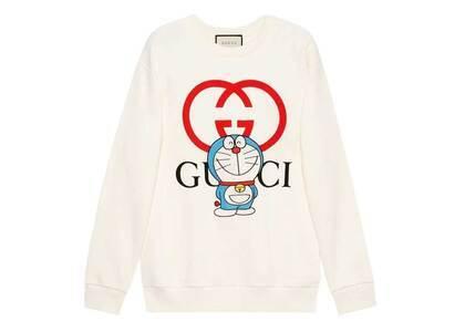 Doraemon x GUCCI Cotton Sweatshirt Ivory/Redの写真