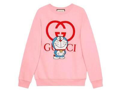Doraemon x GUCCI Cotton Sweatshirt Pale Pinkの写真