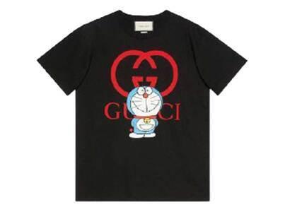 Doraemon x GUCCI Cotton T-shirt Blackの写真