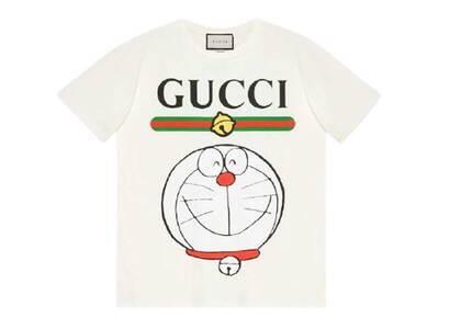 Doraemon x GUCCI Cotton T-shirt Ivory/Whiteの写真
