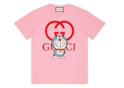 Doraemon x GUCCI Cotton T-shirt Pale Pinkの写真