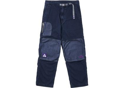 TNF × Palace Purple Label Indigo Ripstop Mountain Wind Pants Indigo (SS21)の写真