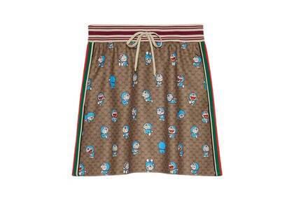 Doraemon x GUCCI Technical Jersey Skirt Beigeの写真