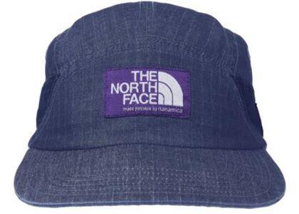 TNF × Palace Purple Label Indigo Ripstop Field Cap Indigo (SS21)の写真