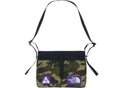 TNF × Palace Purple Label Cordura Nylon Shoulder Bag Camouflage (SS21)の写真