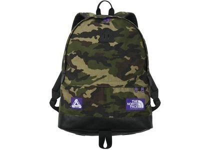 TNF × Palace Purple Label Cordura Nylon Day Pack Camouflage (SS21)の写真