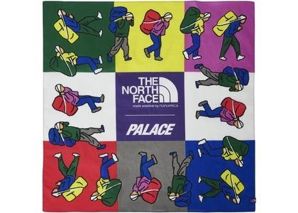 TNF × Palace Purple Label Field Bandana Purple (SS21)の写真