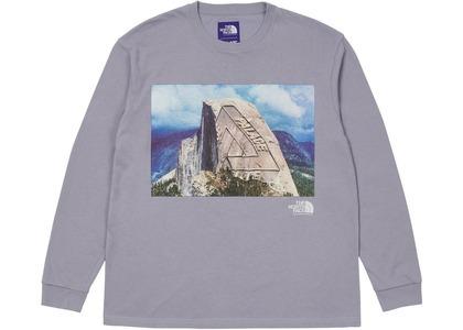 TNF × Palace Purple Label Longsleeve Graphic T-Shirt Purple (SS21)の写真