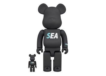 Atmos x Wind And Sea Be@rbrick 100% & 400%の写真