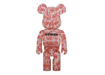 Atmos × Coca-Cola Be@rbrick Clear Body 1000%の写真