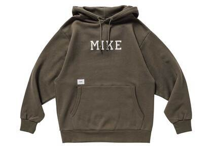 Wtaps Academy Hooded Cotton Oliveの写真