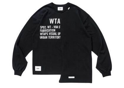 Wtaps Rags L/S Cotton Blackの写真
