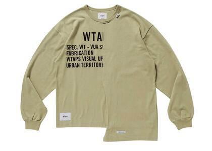 Wtaps Rags L/S Cotton Beigeの写真