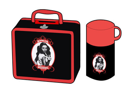 Supreme HYSTERIC GLAMOUR Lunchbox Set Black  (SS21)の写真