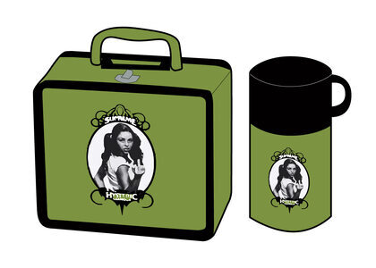 Supreme HYSTERIC GLAMOUR Lunchbox Set Lime  (SS21)の写真