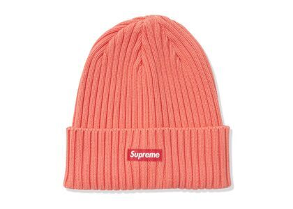 Supreme Overdyed Beanie Coral  (SS21)の写真