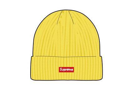 Supreme Overdyed Beanie Yellow  (SS21)の写真