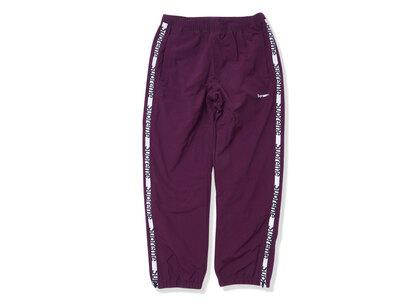 Supreme Reflective Zip Track Pant Purple  (SS21)の写真