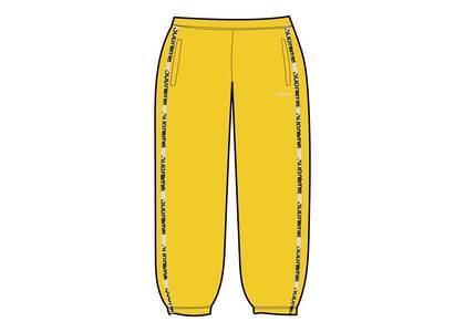 Supreme Reflective Zip Track Pant Yellow  (SS21)の写真