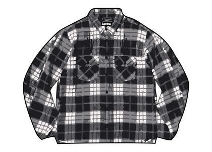 Supreme HYSTERIC GLAMOUR Plaid Flannel Shirt Black  (SS21)の写真