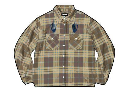 Supreme HYSTERIC GLAMOUR Plaid Flannel Shirt Brown  (SS21)