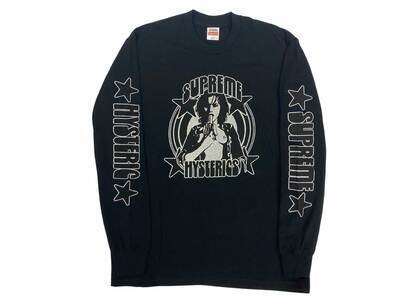 Supreme HYSTERIC GLAMOUR L/S Tee Black  (SS21)の写真