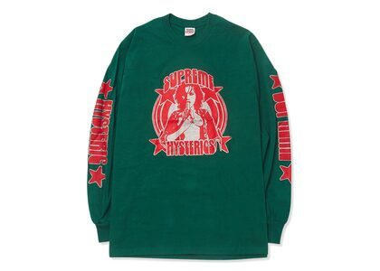 Supreme HYSTERIC GLAMOUR L/S Tee Green  (SS21)の写真