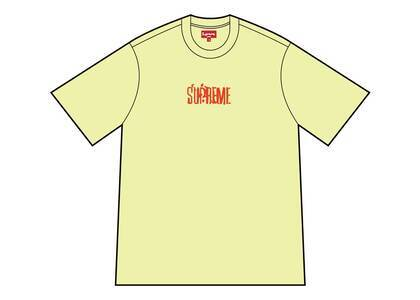 Supreme Splatter S/S Top Pale Yellow  (SS21)の写真