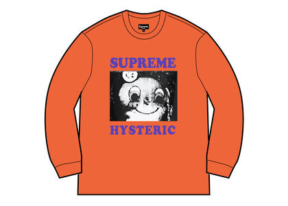 Supreme HYSTERIC GLAMOUR Crewneck Orange  (SS21)の写真