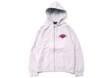 Supreme HYSTERIC GLAMOUR Zip Up Hooded Sweatshirt Ash Grey  (SS21)の写真