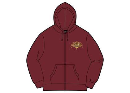 Supreme HYSTERIC GLAMOUR Zip Up Hooded Sweatshirt Cardinal  (SS21)の写真