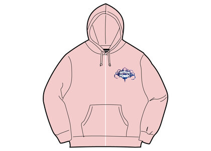 Supreme HYSTERIC GLAMOUR Zip Up Hooded Sweatshirt Light Pink  (SS21)の写真